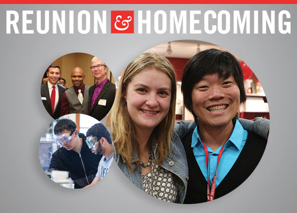 Reunion & Homecoming, October 6-9, 2016