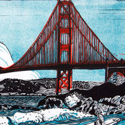 San Francisco – Full-Day Printmaking Workshop in Artist Studio
