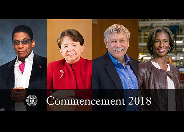 2018 Commencement Honorands Announced