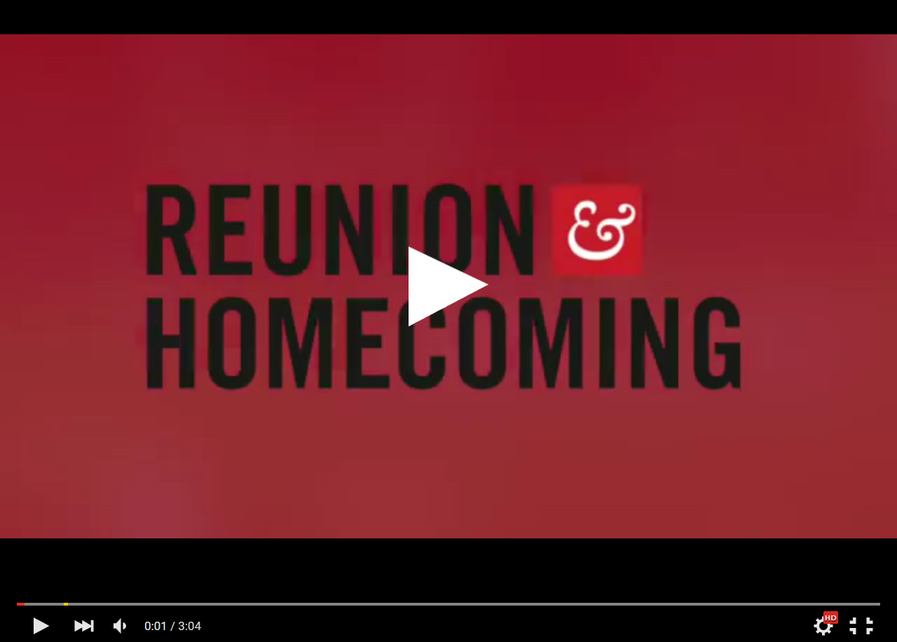 Reunion & Homecoming 2015 Wrap-Up Video