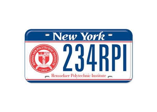 Rensselaer License Plates