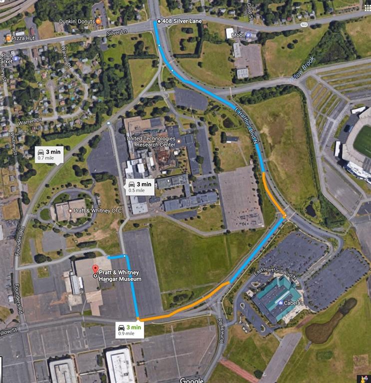 Hartford Hospital Campus Map.Rensselaer Alumni Web Site Hartford Pratt Whitney Tour And